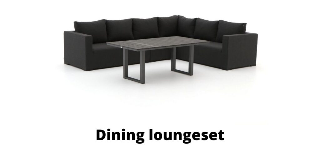 Dining loungeset