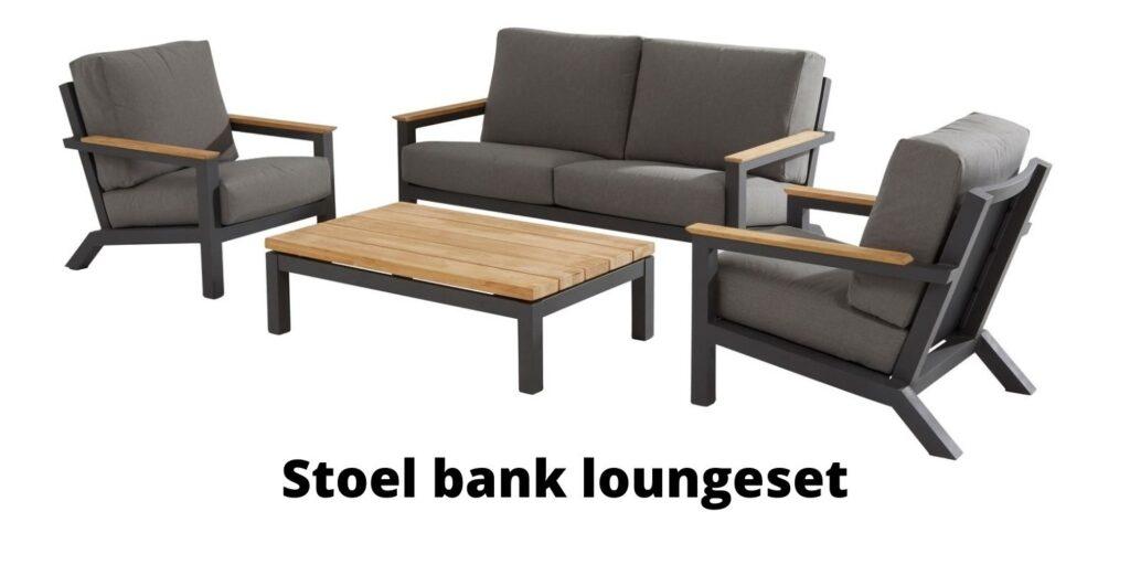 Stoel bank loungeset