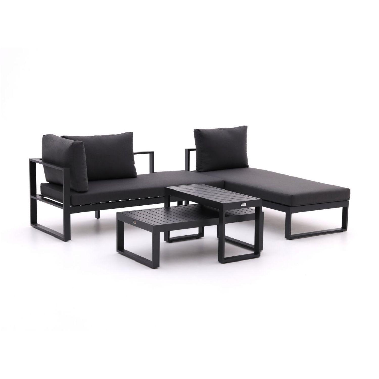 Forza Martone chaise longue loungeset 4-delig