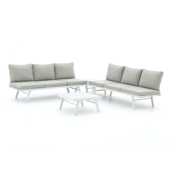 Forza Vadena hoek loungeset 4-delig verstelbaar